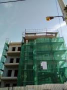 Νοέμβριος 2018 Σοβάτισμα  νεοκλασικού  κτιρίου  στου  Παπάγου (σε  εξέλιξη)